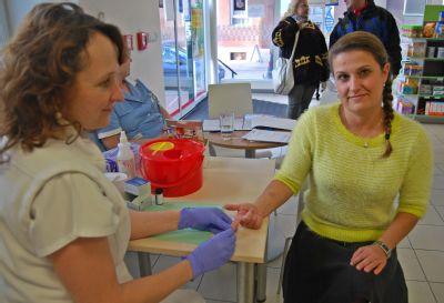 Jak na cukrovku prozradí Den diabetu v Nemocnici Šternberk
