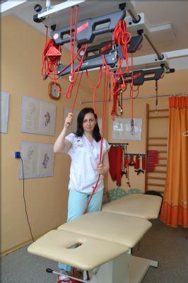 Nemocnice Šternberk pořídila druhou rehabilitační sestavu Redcord