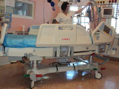 Oddělení ARO šternberské nemocnice má dvě nová speciální lůžka