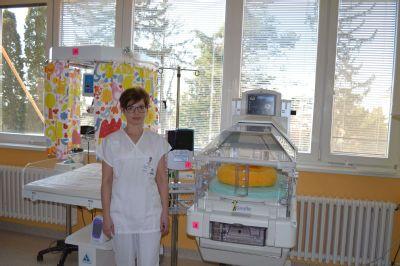 Novorozenecké oddělení Nemocnice Šternberk používá tři nové přístroje