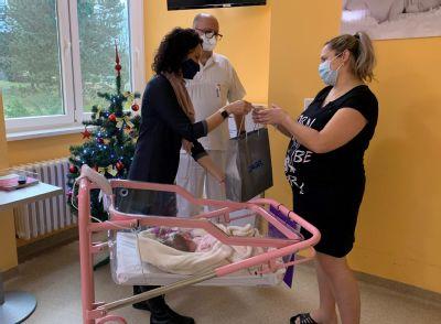 Vroce 2020 přivítala Nemocnice AGEL Šternberk na světě celkem 1093 dětí